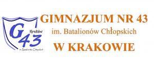 logo GIMNAZJUM NR 43
